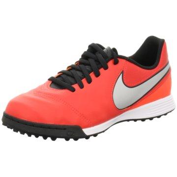 Nike FußballschuhTiempoX Legend VI TF Kinder Fußballschuhe Turf blau pink