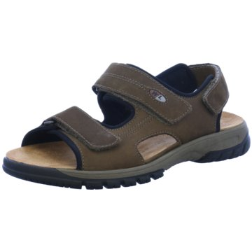 Waldläufer Komfort SchuhSandale braun