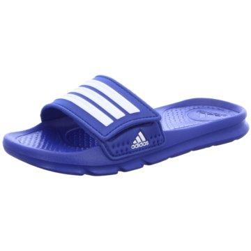 adidas Offene Schuhe blau