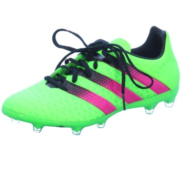 adidas Nocken-SohleACE 16.2 FG/AG Herren Fußballschuhe Nocken grün grün
