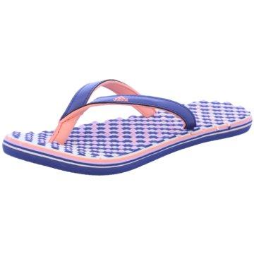 adidas Bade-Zehentrenner blau