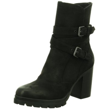 SPM Shoes & Boots Plateau Stiefelette schwarz