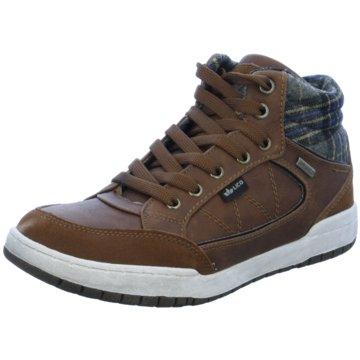 Brütting Sneaker HighMalte braun