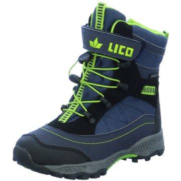 Lico Wander- & Bergschuh blau