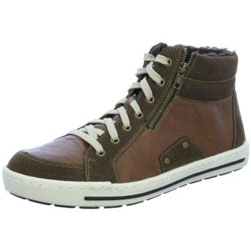 Rieker Sneaker High braun