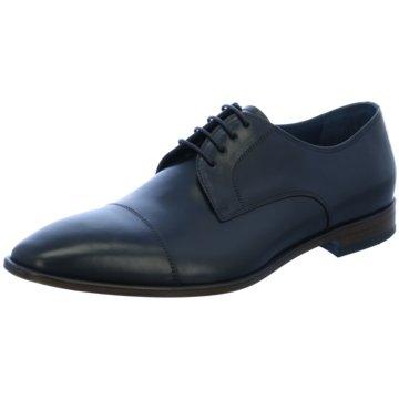 Henry Parker Business Schnürschuh blau