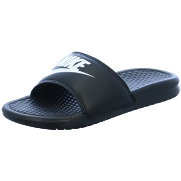 Nike BadelatscheBenassi JDI schwarz