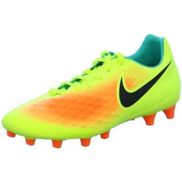 Nike Nocken-SohleMagista Onda II AG-PRO Fußballschuhe Kunstrasen gelb gelb