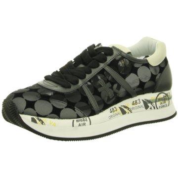Premiata Plateau Sneaker schwarz