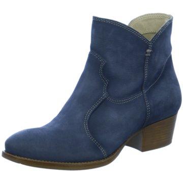 Tamaris Westernstiefelette blau