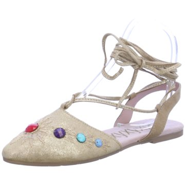 xyxyx Sling Ballerina beige