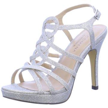 Menbur Top Trends High Heels silber