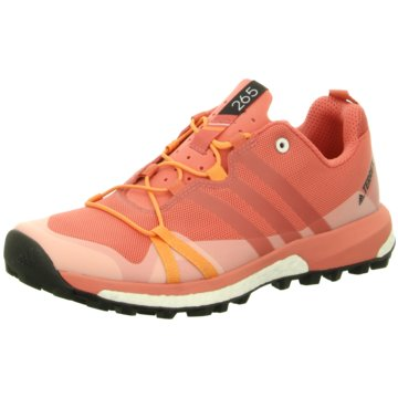 adidas Outdoor SchuhTerrex Agravic Damen Trail- Runningschuhe Outdoor pink orange orange