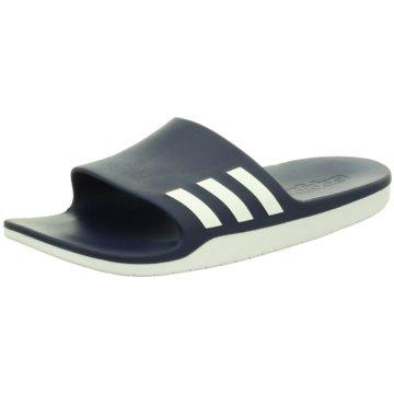 adidas Badelatscheaqualette CF blau