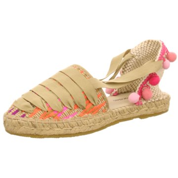I love Candies Espadrilles Sandalen beige