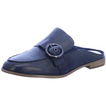 Tamaris Mules Pantoletten blau