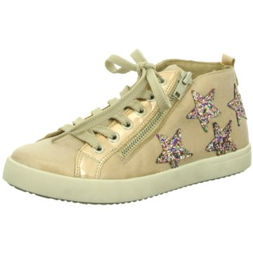 Rieker Sneaker High gold