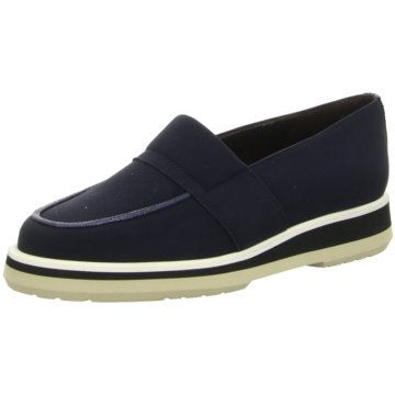 Brunate Mokassin Slipper blau