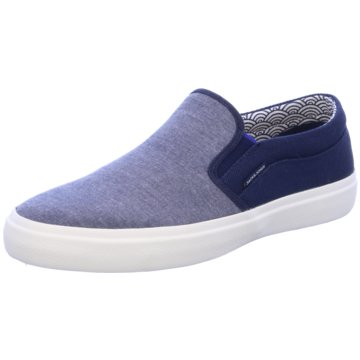 Jack & Jones Sportlicher Slipper blau