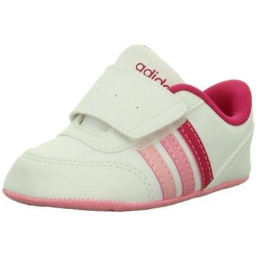 adidas Kleinkinder MädchenV JOG CRIB weiß