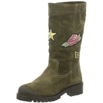 Alpe Woman Shoes Klassischer Stiefel grün