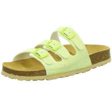 BIO POINT Offene Schuhe grün