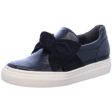 Paul Green Sportlicher Slipper blau