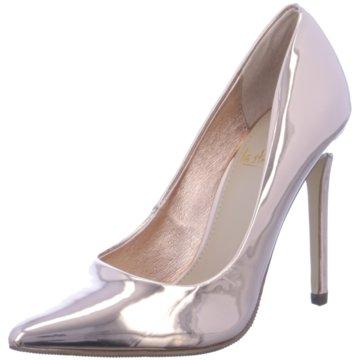 La Strada Top Trends High Heels gold