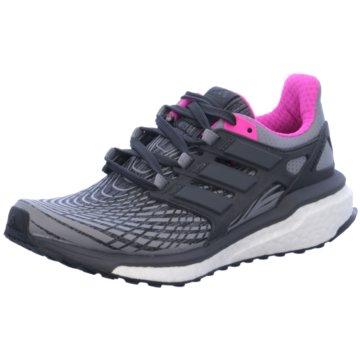 adidas RunningEnergy Boost Damen Laufschuhe Running grau pink grau