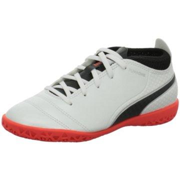 Puma Trainings- und HallenschuhHypervenomX Phelon III Dynamic Fit IC Kinder Hallenschuhe rot weiß