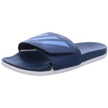 adidas Badeschuh blau
