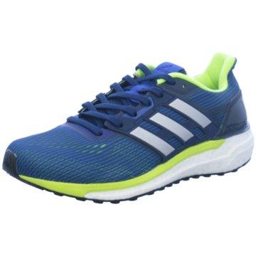 adidas RunningSupernova Herren Laufschuhe Running blau gelb blau
