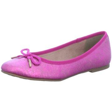 Tamaris Klassischer Ballerina pink