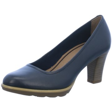 Tamaris Plateau Pumps blau
