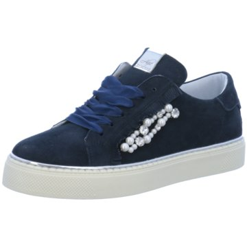 Alpe Woman Shoes Sneaker Low blau