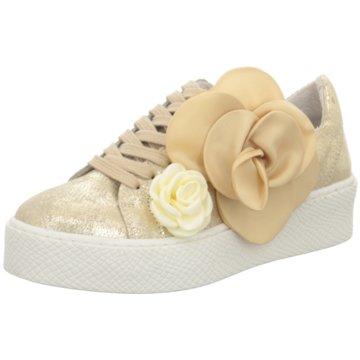 SPM Shoes & Boots Plateau Sneaker gold