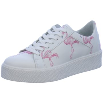 SPM Shoes & Boots Plateau Sneaker weiß