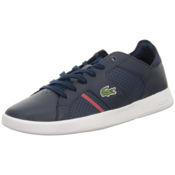 Lacoste Sneaker Low blau