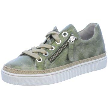 Gabor Sportlicher SchnürschuhSneaker grün