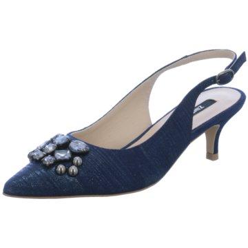 Zinda Slingpumps blau