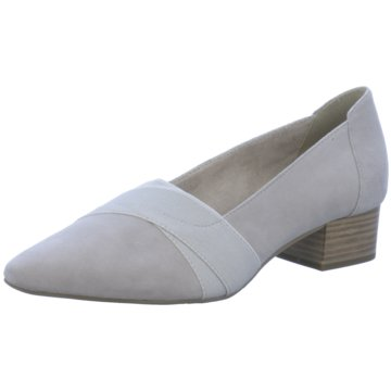 Tamaris Flacher Pumps grau