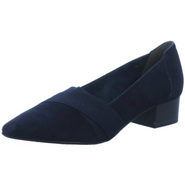 Tamaris Flacher Pumps blau
