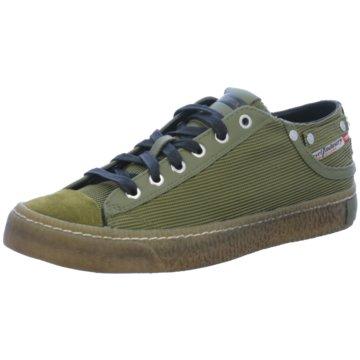 Diesel Sneaker Low grün
