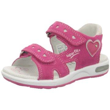 Superfit Offene Schuhe pink