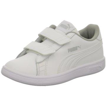 Puma Sneaker Low SMASH V2 L V PS - 365173 weiß