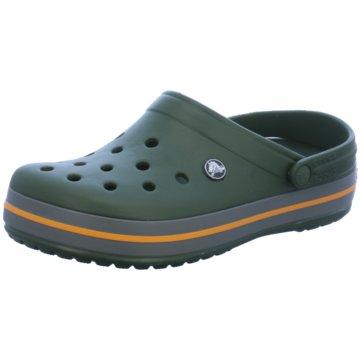 CROCS Offene Schuhe grün
