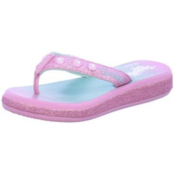 Skechers Offene Schuhe rosa