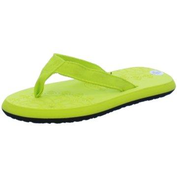 Fashy Offene Schuhe grün