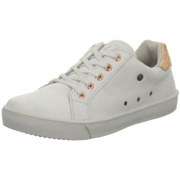 Zebra Sneaker Low weiß