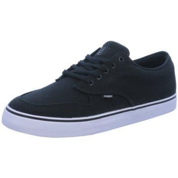 Element Sneaker Low schwarz